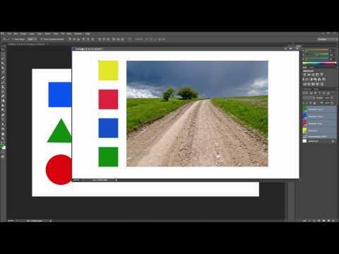 60 İkinci Photoshop Eğitimi: Kopyalamak Katmanlar Hızlı Bir Şekilde Başka Bir Belge - Hd-