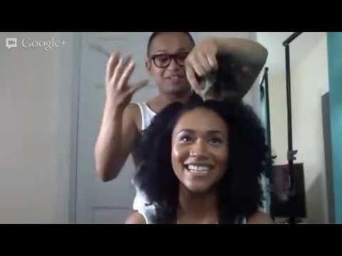 Kız Canlı Saç Tıraş!