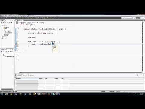 Java Eğitimi - 19 - Rasgele Sayılar