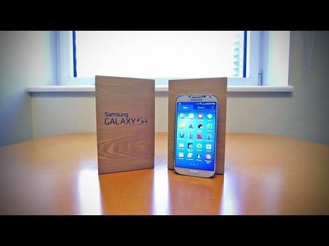 Samsung Galaxy S4 (Galaxy S Iv) Unboxing