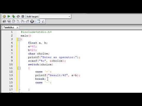 C Programlama Eğitimi - 35: Switch İfadesi