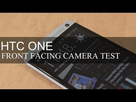 Htc Bir Ön Kamera Testi (Geniş Açı Lens) Karşı Karşıya