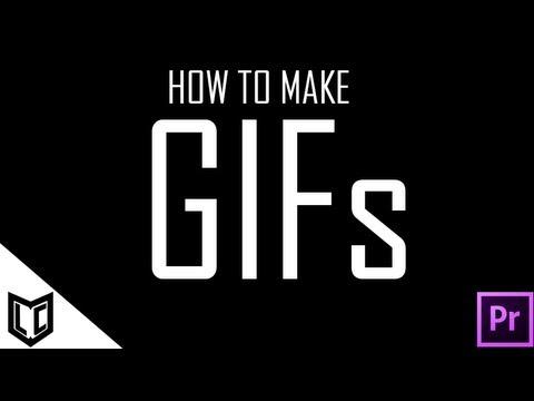 Nasıl Yapmak Animasyonlu Gıf Olarak Adobe Premiere Cs4/cs5/cs6 [Hq 1080 P]