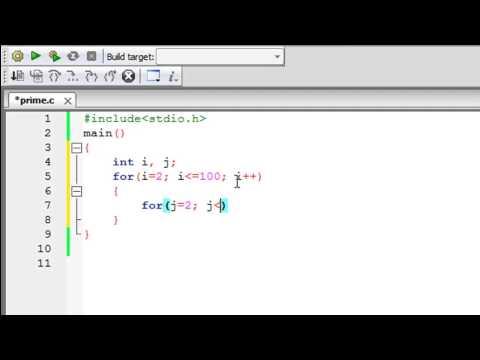 C Programlama Eğitimi - 42: Bulma Asal Sayılar