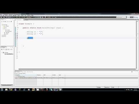 Java Tuorial - 21 - Dizeleri Karşılaştırma