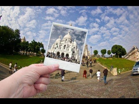 Photoshop - Tutun Kendi Polaroid Fotoğraf - Kolaj