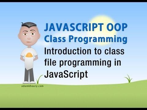 Javascript Sınıf Oop Öğretici Intro Nesneye Yönelik Programlama