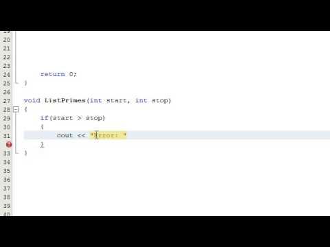 Nasıl Bir Sayı Bir Bilgisayar Programı, C++, Bölüm 3 Yazarak Bir Asal Sayı İse Karar Vermek İçin