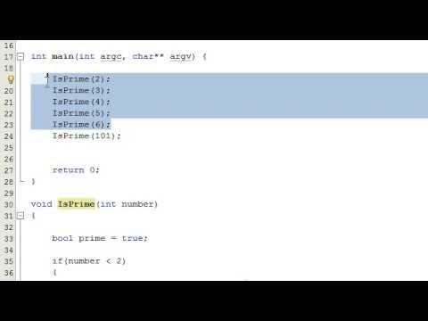 Nasıl Bir Sayı Bir Bilgisayar Programı, C++, Part 2 Yazarak Bir Asal Sayı İse Karar Vermek İçin