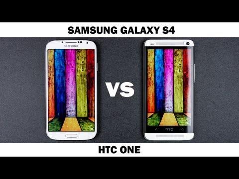 Samsung Galaxy S4 Vs Htc Bir