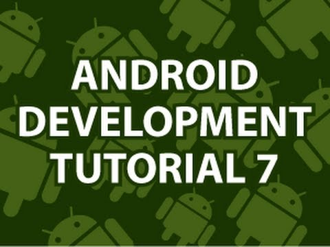 Android Geliştirme Eğitimi 7