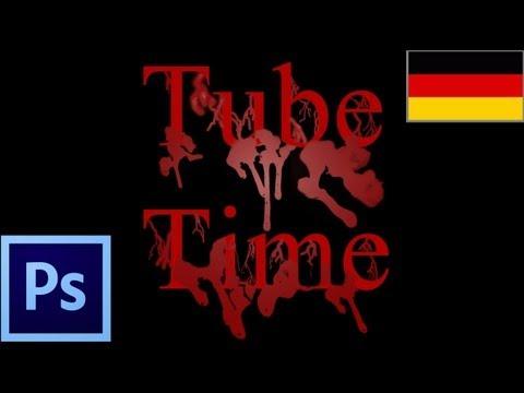 Öğretici: Blutende Schrift Animieren After Effects 6 Und Photoshop 6 (Alman) Bölüm 1