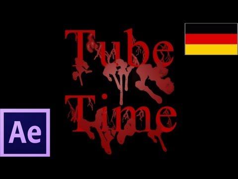 Öğretici: Blutende Schrift Animieren After Effects 6 Und Photoshop 6 (Alman) Bölüm 2