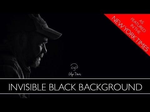 Fotoğraf Tekniği: Görünmez Siyah Arka Plan