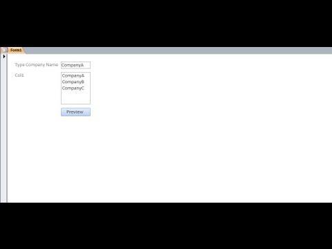Microsoft Access 2007 2010 2013 Pt 7 (Parametre Sorgusu Formu; Makro Ve Ekleme/güncelleştirme/silme Sorgusu)
