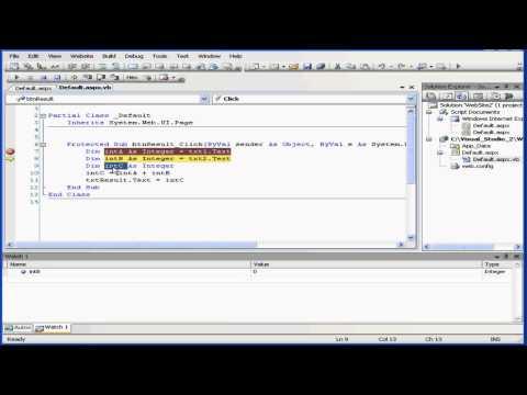 Visual Basic Eğitimi - Cilt 2-Ders 19: Hata Ayıklama