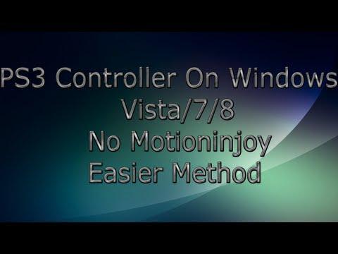 Ps3 Denetleyicisi Yüklemesi Windows Vista/7/8 (Motıonınjoy) Daha Kolay Yöntemi