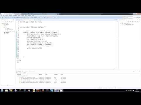 Bizim Savaş Gemisi Oyun Yapma Java Eğitim - 27 - Al Kullanıcı Girişi