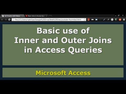 Access Sorguları Temel Birleşimlerde