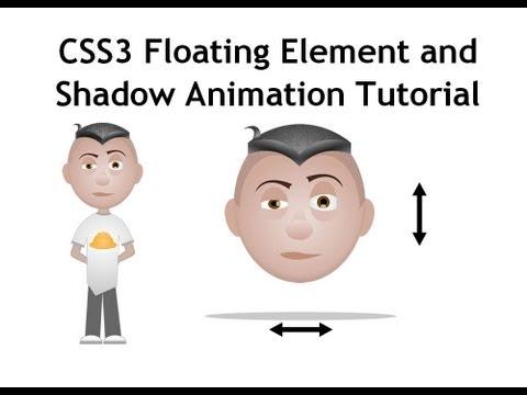 Css3 Ana Kareler Animasyon Eğitimi Yüzen Eleman Gölgeler