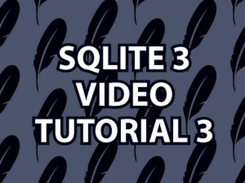 Sqlite3 Öğretici 3