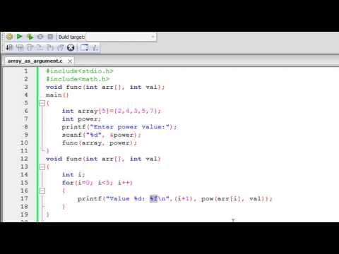 C Programlama Eğitimi - 55: Geçen Dizi İşlevleri