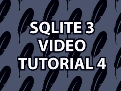 Sqlite3 Eğitimi 4
