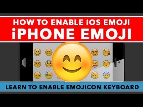 Emoji Klavye Üstünde İphone - Olanaklı Kılmak Ios 6 Emojicon Klavye Etkinleştirme