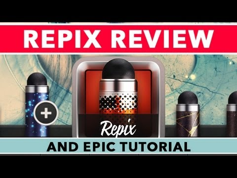Repix App Öğretici Ve Gözden Geçirme İçin İphone Ve İpad - İlham Verici Photo Editor'ı