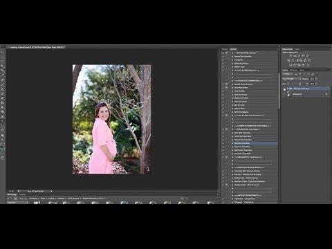 Nasıl Eylemler Photoshop Cs2 - Cs6 Yüklemek İçin
