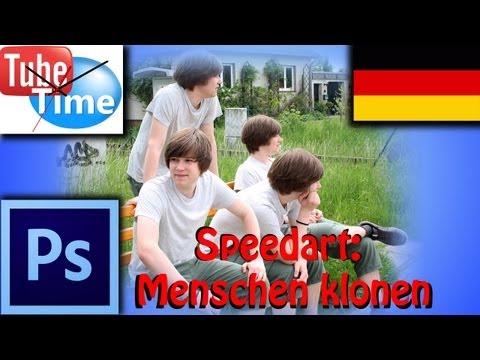 Photoshop Tutorial Deutsch: Menschen Klonen