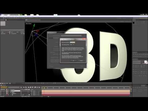 After Effects Tutorıal: 3D Render Kalite Ayarları - Hd-