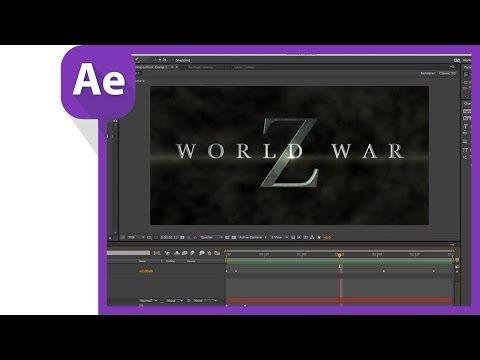 Dünya Savaşı Z After Effects Ve Cinema 4 D Lite Yapılması Başlık