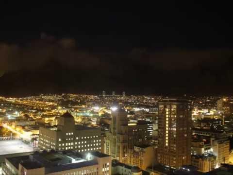Cape Town Table Mountain Zaman Atlamalı