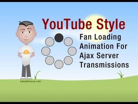 Youtube Tarzı Ajax Fan Canlandırma Havai Fişek Grafik Tasarım Eğitimi Yükleme