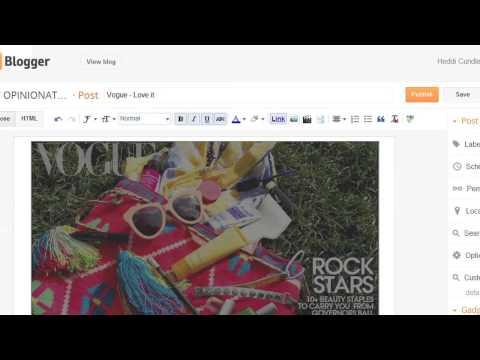 Bir Blog Dergisi Fotoğraf Görüntüleri Nasıl Kullanılır : Teknoloji Faktörü