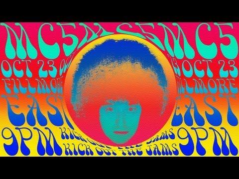 Photoshop: 1960'larda, Psychedelic Rock Müzik Poster Yapmak Nasıl