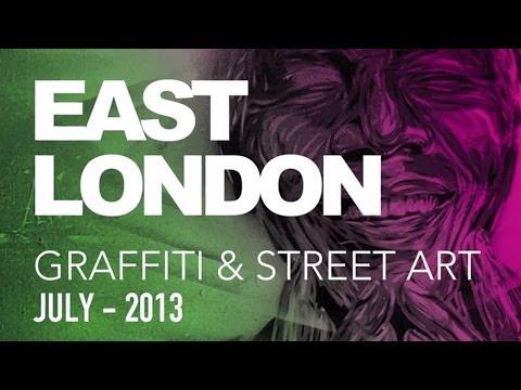 Doğu Londra Grafiti Ve Street Art - Temmuz 2013