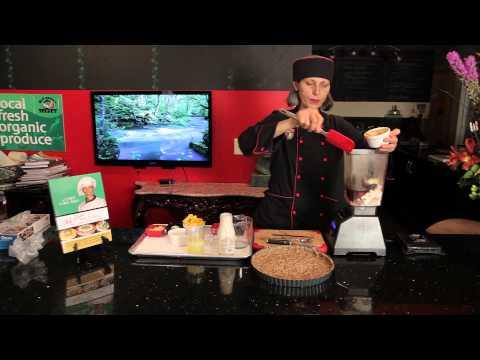 Vegan Kabak Cheesecake 9 İnç Pasta Tabağı: Pişirme Vegan
