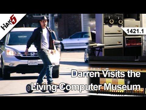 Darren Hak5 Yaşam Bilgisayar Müzesi Ziyaret 1421.1