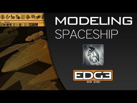 Maya İçin Yeni Başlayanlar Öğretici: 3D Modelleme Bir Uzay Gemisi Bölüm 1 Misterh3D Tarafından