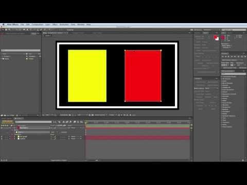After Effects W / Öğe 3D Hareketli Grafikler Oluşturmak