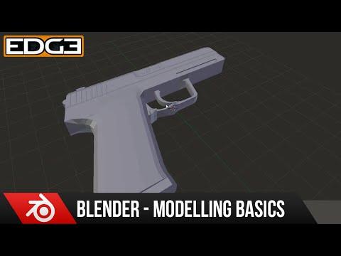 Yeni Başlayanlar İçin Blender: 3D Modelleme Temel Tabanca Eğitimi Serisi Bölüm 5 Zoonyboyz Tarafından