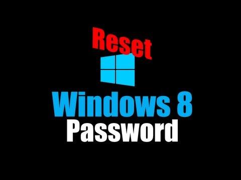 Windows 8 Şifre Sıfırlama