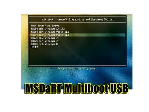 Msdart Multiboot Usb