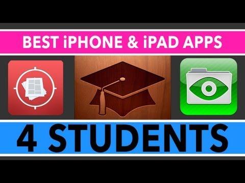 En İyi İpad Ve İphone Apps İçin Öğrenciler 2013 - Üniversite Ve Yüksek Okul
