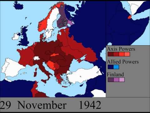 Avrupa'nın İkinci Dünya Savaşı: Her Gün