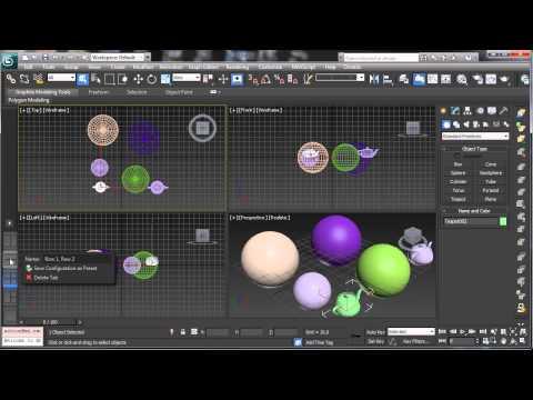 3Ds Max 2013 Sneak Peek - 3Ds Max Rehberler [720 P]
