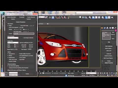 3Ds Max 2013 Sneak Peek 6 - 3Ds Max Rehberler [720 P]