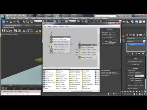 3Dsmax Parçacıklar Sparks - 3Ds Max Rehberler [720 P] Oynayan